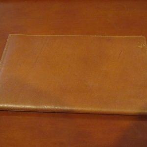 Leather Passport Wallet / Billfold